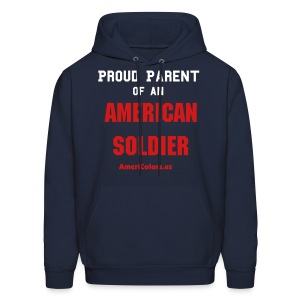 Proud Parent - Army - Men's Hoodie