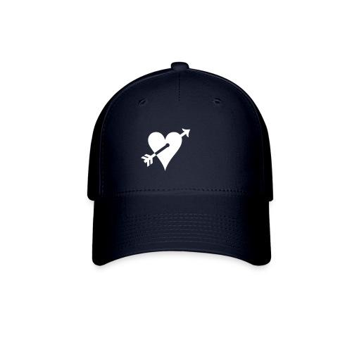 heart logo Navy - Baseball Cap