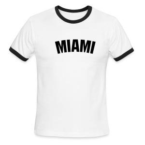 T-Shirt Miami - Men's Ringer T-Shirt