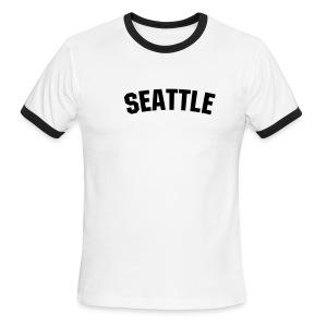T-Shirt Seattle - Men's Ringer T-Shirt
