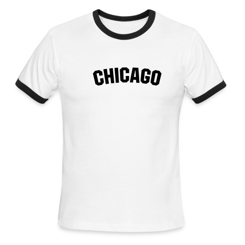T-Shirt Chicago - Men's Ringer T-Shirt