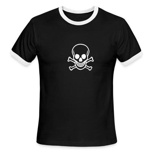 skull logo - Men's Ringer T-Shirt