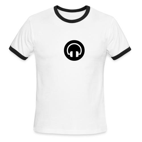 SAE Ringer T Phones - Men's Ringer T-Shirt