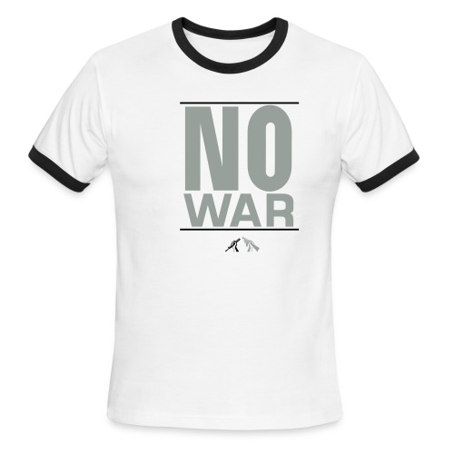 No War! - Men's Ringer T-Shirt