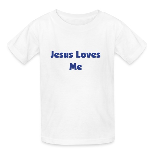 Jesus Loves Me - Kids - Kids' T-Shirt