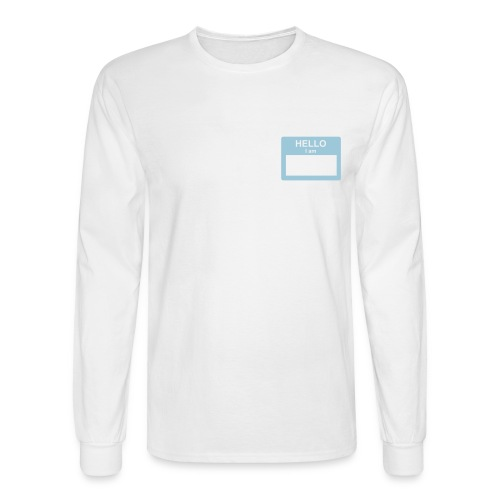 Hello I Am... - Men's Long Sleeve T-Shirt