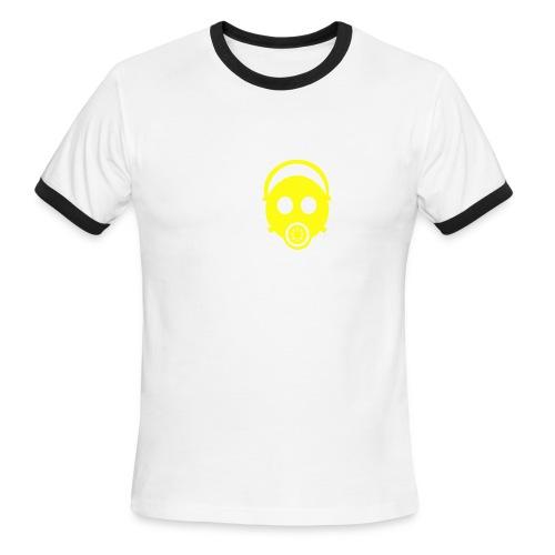 Gas Mask Tee - Men's Ringer T-Shirt
