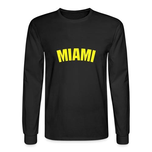 Miami - Men's Long Sleeve T-Shirt