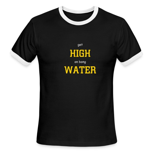 High Water (Black.Gold) - Men's Ringer - Men's Ringer T-Shirt
