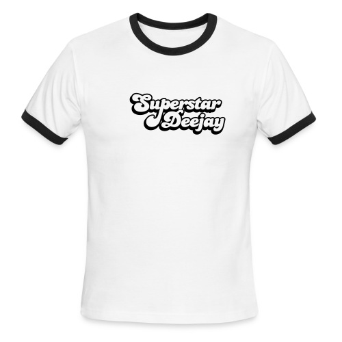 Superstar Deejay tee - Men's Ringer T-Shirt