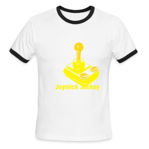 Joystick Jockey - Men's Ringer T-Shirt