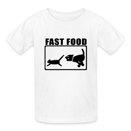 Fast Food - Kids' T-Shirt