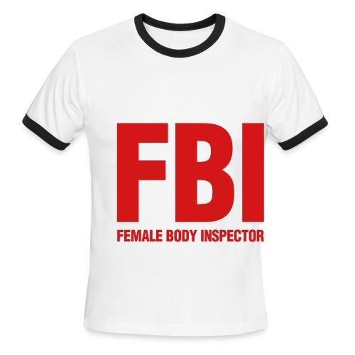FBI shirt - Men's Ringer T-Shirt