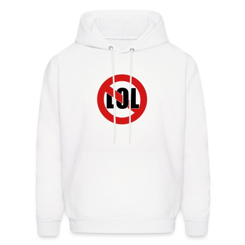 No LOL hooded sweat - Men's Hoodie