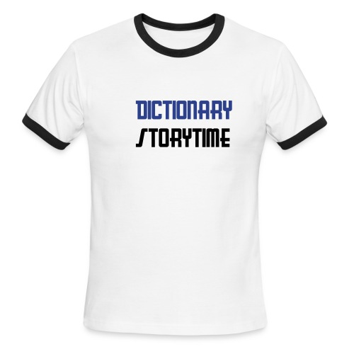 Dictionary Storytime, No Owl - Men's Ringer T-Shirt