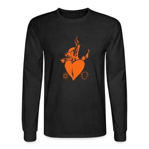 sacred heart - Men's Long Sleeve T-Shirt