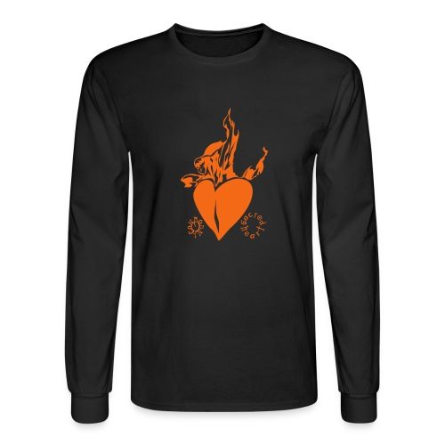 sacred heart - Men's Long Sleeve T-Shirt