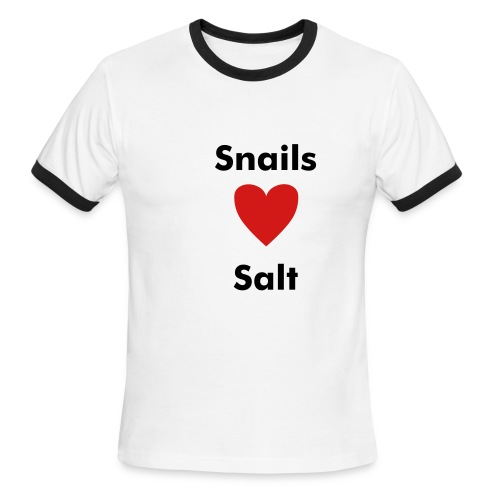 Snails Heart Salt Mens - Men's Ringer T-Shirt