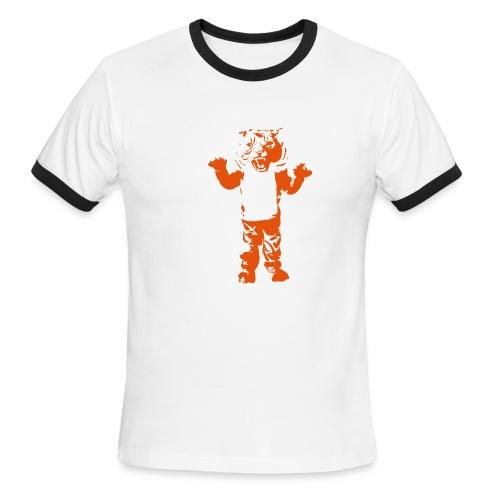 Tiger Ringer - Men's Ringer T-Shirt