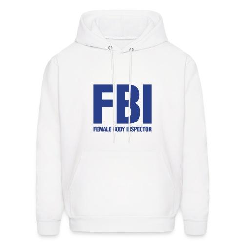 FBI mens Huddy - Men's Hoodie