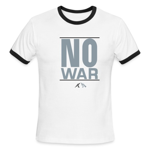 No War Tee - Men's Ringer T-Shirt