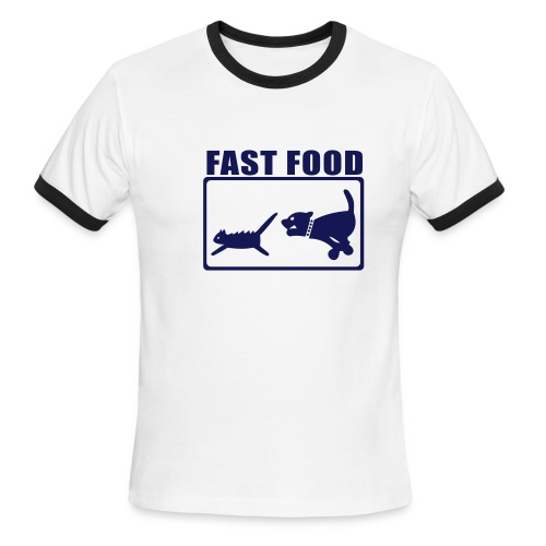 Fast Food - Men's Ringer T-Shirt