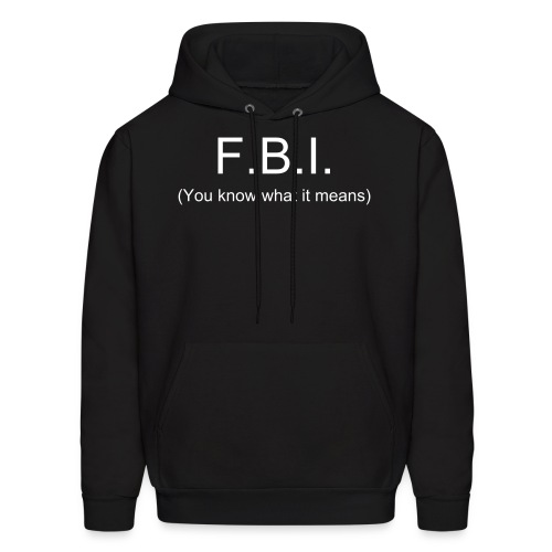 The FBI - Men's Hoodie