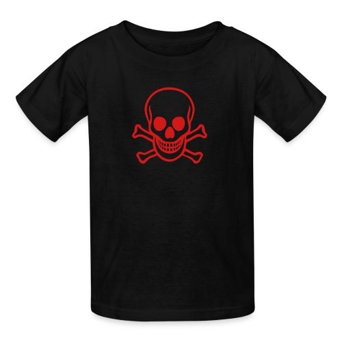 Red scull - Kids' T-Shirt
