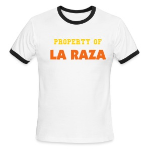 Property of La Raza - Men's Ringer T-Shirt