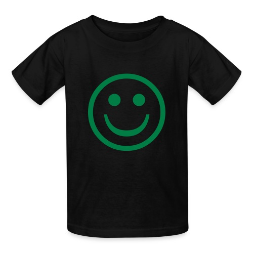 Smile Kids T'shirt (black) - Kids' T-Shirt
