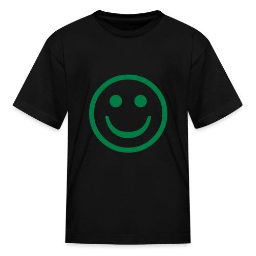 Smile Kids T'shirt (black) - Kids' T-Shirt