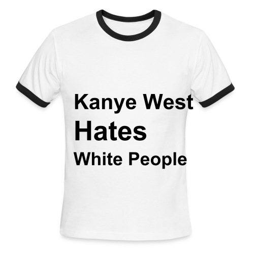 The Kanye - Men's Ringer T-Shirt