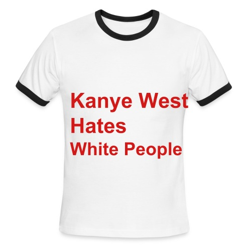 The Red Kanye - Men's Ringer T-Shirt