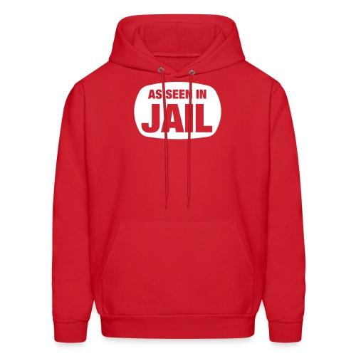 As Seen In Jail - Men's Hoodie