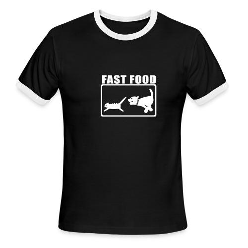 Fast Food - Men's Ringer T-Shirt
