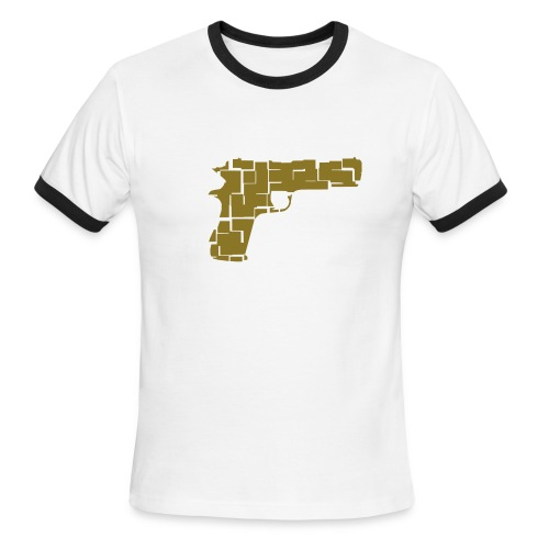 9 pistol - Men's Ringer T-Shirt