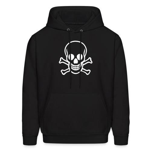 Skull and cross bones hoodie - Men's Hoodie