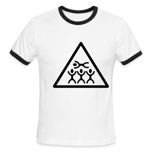 crowdsurfing tshirt - Men's Ringer T-Shirt