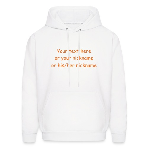 Make Your Own - Men's Hoodie