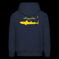 Hoodies ~ Men's Hoodie ~ Adventure no. 12 The Jaguar Shark (Part 2)