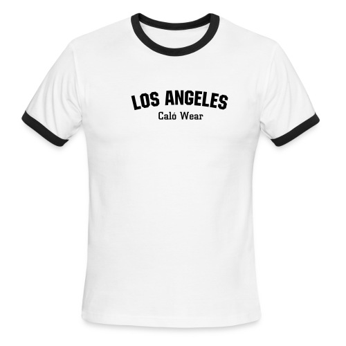 Los Angeles Caló Wear Tee - Men's Ringer T-Shirt