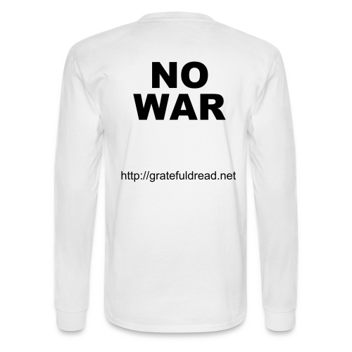 No War Tee - Men's Long Sleeve T-Shirt