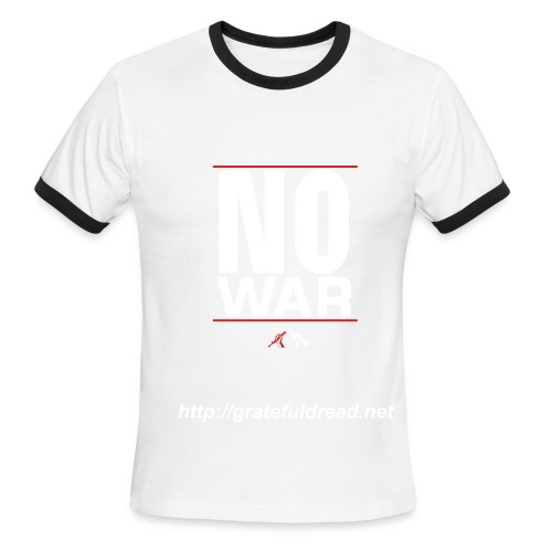 DC's No War Tee - Men's Ringer T-Shirt