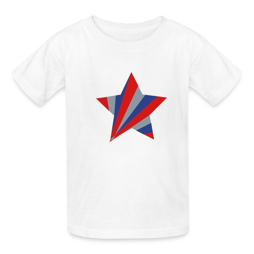 Patriotic Star - Kids' T-Shirt
