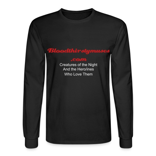 Bloodthirsty Long Sleeved - Men's Long Sleeve T-Shirt