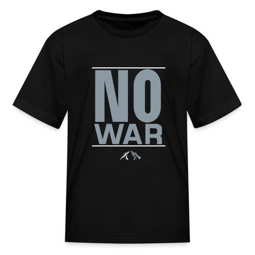 against war - Kids' T-Shirt