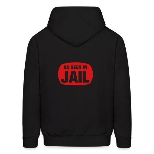 As seen in jail hoody - Men's Hoodie