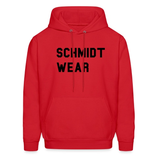 Men's Hoodie - its a schmidt wear hooded with a silver dragon on the back