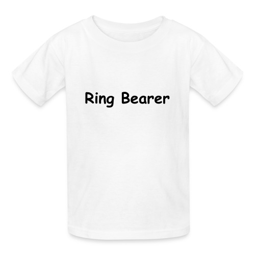 Ring Bearer t-shirt - Kids' T-Shirt