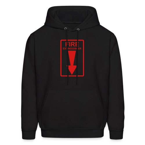 Fire Extinguisher - Men's Hoodie